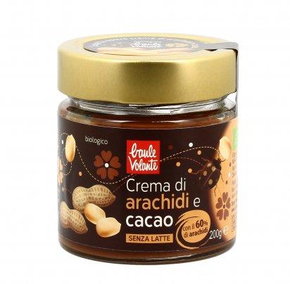 Crema di Arachidi e Cacao Bio - Senza Latte