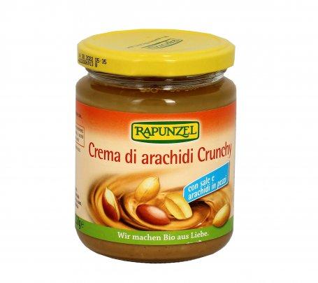 Crema di Arachidi Crunchy con Sale
