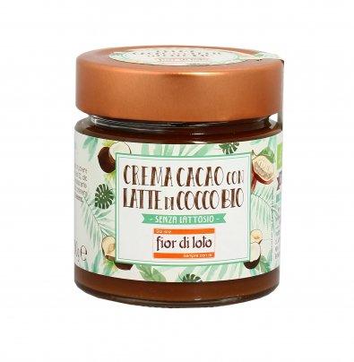 Crema Cacao con Latte di Cocco Bio