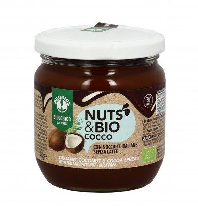 "Crema con Cocco, Cacao e Nocciole ""Nuts & Bio"""