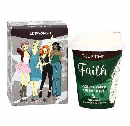 """Crema Corpo Fiori Esotici """"Faith"""" T-Cup Cream To Go"""