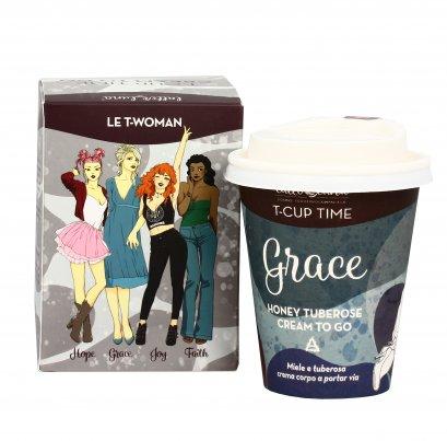 """Crema Corpo Miele e Tuberosa """"Grace"""" T-Cup Cream To Go"""