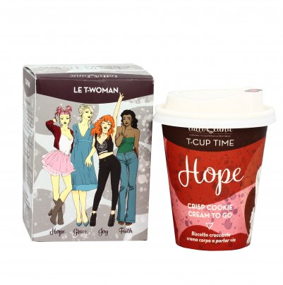 "Crema Corpo Biscotto Croccante ""Hope"" T-Cup Cream To Go"