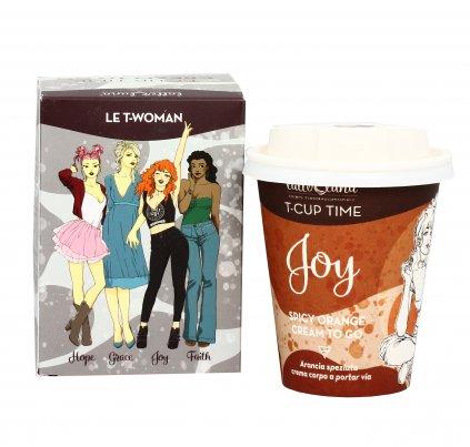"""Crema Corpo Arancia Speziata """"Joy"""" T-Cup Cream To Go"""