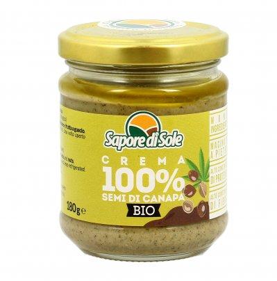 Crema 100% di Semi di Canapa Bio