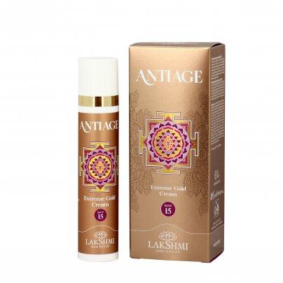 """Crema Nutriente con Protezione Spf15 """"Extreme Gold"""" - Antiage"""