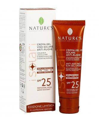 Crema Solare Anti-Rughe Viso Labbra Spf 25 50 ml