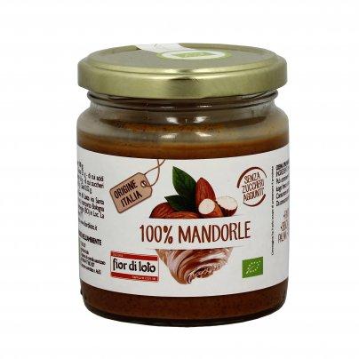 Crema 100% di Mandorle Tostate Bio