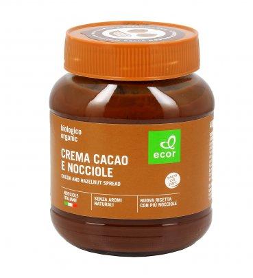Crema Cacao e Nocciole Bio