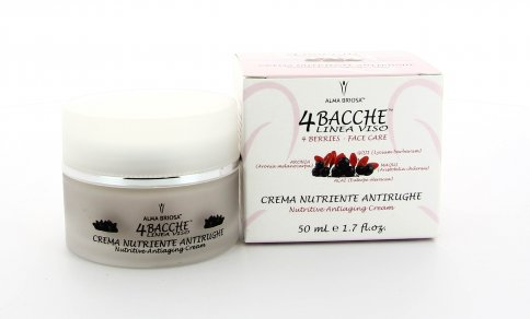 Crema Nutriente 4 Bacche Antirughe - 50 ml.