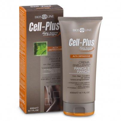 Crema Snellente Pancia e Fianchi Alta Definizione - Cell-Plus
