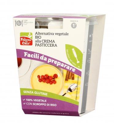Preparato Alternativa Vegetale Bio alla Crema Pasticcera