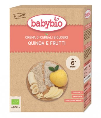 Crema di Cereali Bio - Quinoa e Frutti