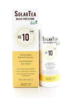 Crema Solare Bio SolarTea Bassa Protezione Spf 10