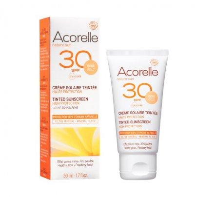 Crema Solare Colorata Spf 30 Viso - Pelle Dorata