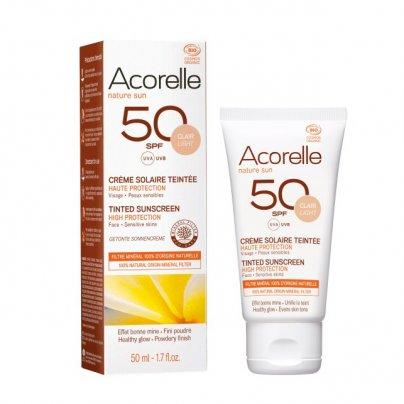 Crema Solare Colorata Spf 50 Viso - Pelle Chiara