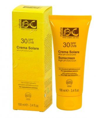 Crema Solare Protezione Alta - Spf 30