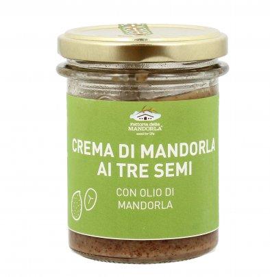 Crema Integrale Tre Semi con Olio di Mandorla