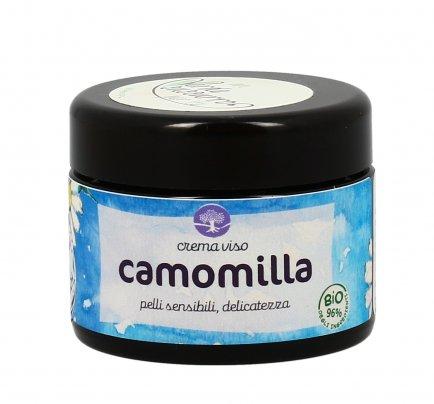 Crema per il Viso alla Camomilla