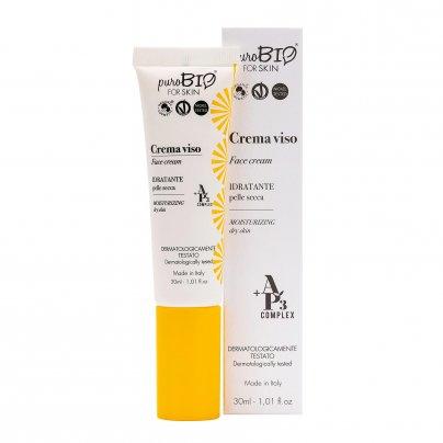 Crema Viso Idratante Pelle Secca - For Skin