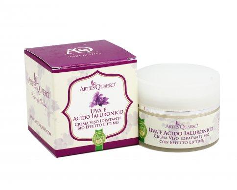 Crema Viso Idratante - Uva e Acido Ialuronico - 50 ml.