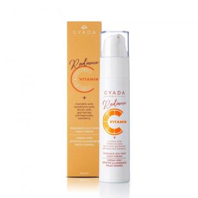 Crema Viso Illuminante Pelli Grasse - Radiance Vitamin C