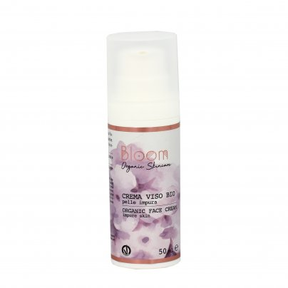 Crema Viso Bio per Pelle Impura - Bloom