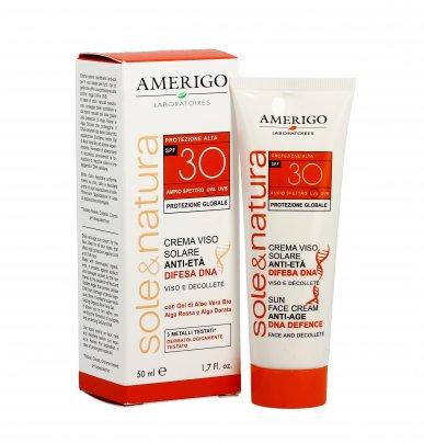 Crema Viso Anti-Age Protezione Alta Spf 30