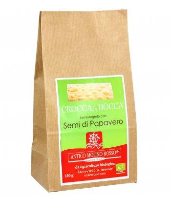 Snack Salato - Crocca In Bocca con Semi Di Papavero