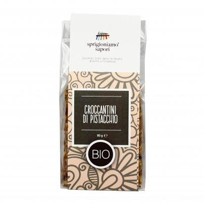 Croccantini di Pistacchio Bio - Senza Glutine