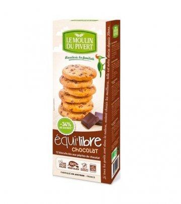Biscotti con Pepite di Cioccolato Bio - Equilibre