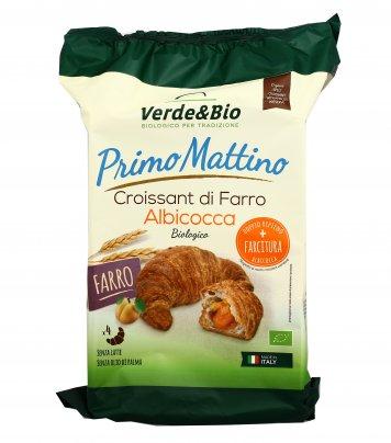 Croissant Bio Vegan di Farro all'Albicocca