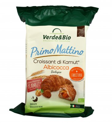 Croissant KAMUT® grano khorasan all'Albicocca