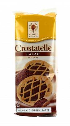 Crostatine al Cacao Bio - Le Crostatelle