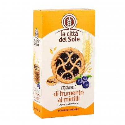 """Crostatine Bio """"Crostatelle"""" di Frumento ai Mirtilli"""