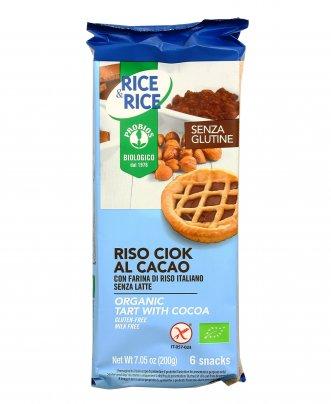 Crostatina di Riso con Cacao Bio - Riso & Rice