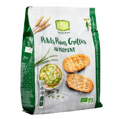 Crostini Bio - Petits Pains Grilles