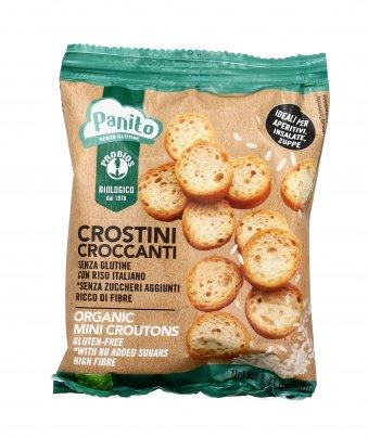 """Crostini Croccanti """"Panito"""" - Senza Glutine"""