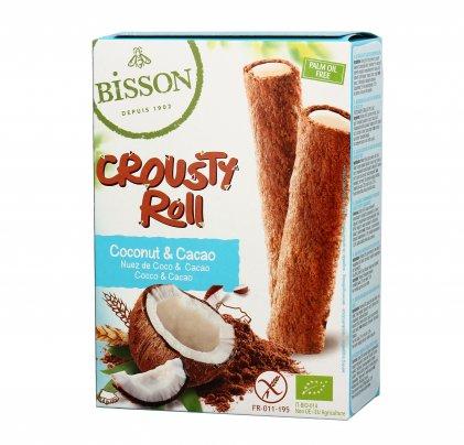 """Cialda Snack Cacao e Crema di Cocco """"Crousty Roll"""""""