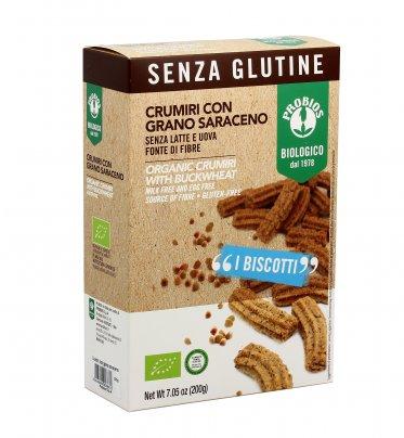 Crumiri con Grano Saraceno -  Senza Glutine