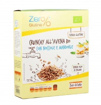 Crunchy all'Avena Bio con Nocciole e Mandorle