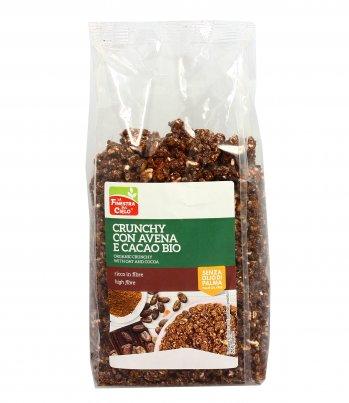 Cereali Crunchy con Avena e Cacao Bio