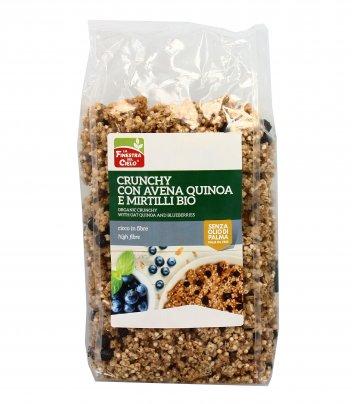 Cereali Crunchy con Avena, Quinoa e Mirtilli Bio