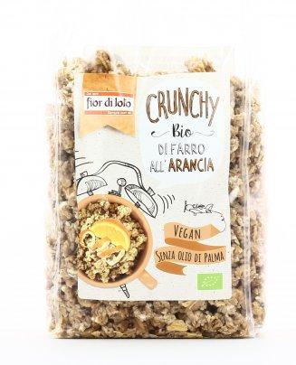 Crunchy con Fiocchi di Farro e Arancia