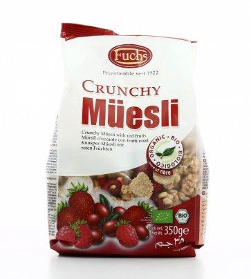 Crunchy - Muesli ai Frutti Rossi