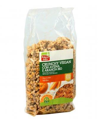 Crunchy Vegan con Avena e Arancia Bio