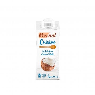 Crema con Latte di Cocco da Cucina Bio 200 ml