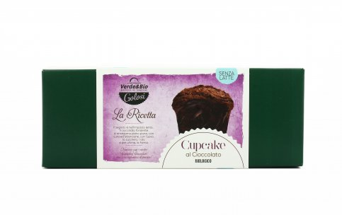 Cupcake al Cioccolato Bio