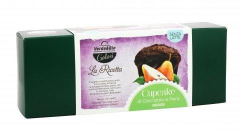 Cupcake Cioccolato e Pera Bio