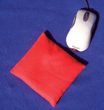 Cuscinetto Poggiapolso per Mouse Rosso